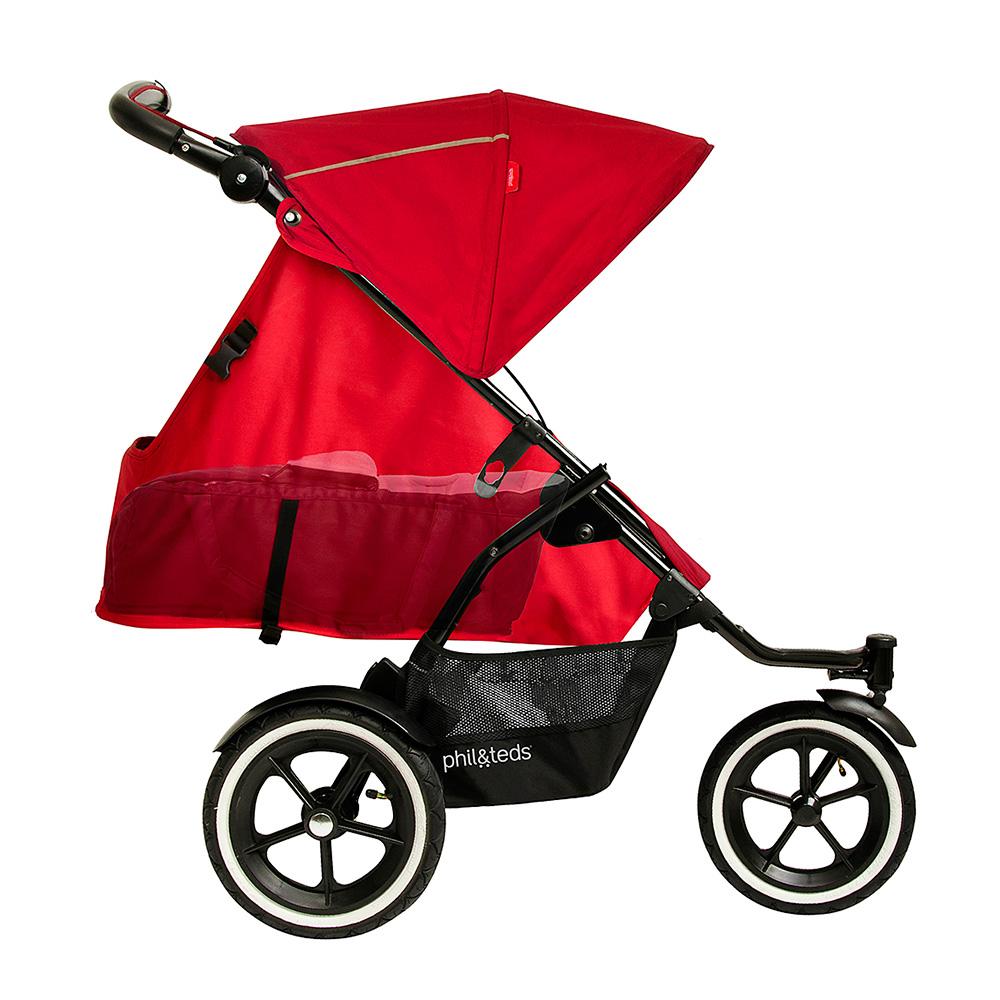 Обзор коляски для погодок Рhil and Тeds sport